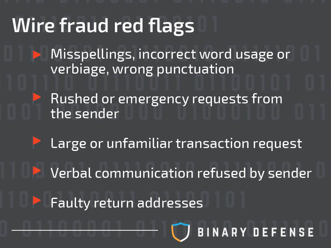 wire fraud blog red flags